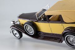 Matchbox Models of Yesteryear Y-4 Duesenberg Model J Town Car royalty free stock image