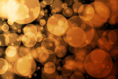 Brown bokeh abstract light background Stock Photo