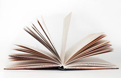 Brown book Royalty Free Stock Photo