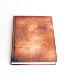 Brown book Royalty Free Stock Photography