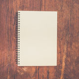 Brown book paper Royalty Free Stock Images