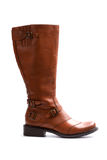 Brown boot Royalty Free Stock Photo
