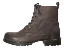 Brown boot Royalty Free Stock Image