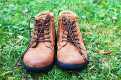 Brown boots Stock Photos