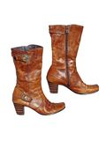 Brown boots 2 Royalty Free Stock Images