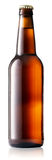 Brown bottle of beer Royalty Free Stock Photos
