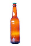 Brown bottle with cap Stock Image