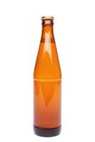 A brown bottle with drink on white background. See my other works in portfolio Stock Photos