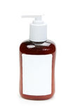 Brown bottle of gel Stock Photo