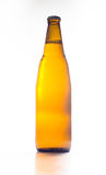 Brown bottle on a white background, clean water island bottles, Royalty Free Stock Images
