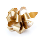 Brown bow Royalty Free Stock Images