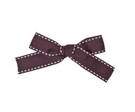 Brown bow Stock Images