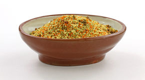 Brown Bowl Couscous Royalty Free Stock Images