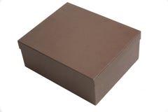 Brown box Royalty Free Stock Photos