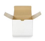 Brown box Stock Image