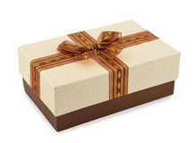 Brown box Royalty Free Stock Photo