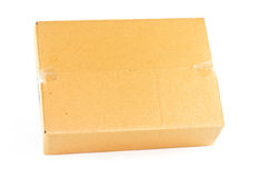 Brown box Royalty Free Stock Photography