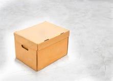 Brown box Stock Photo