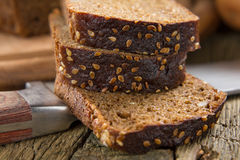 Brown bröd Fotografering för Bildbyråer