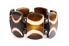 Brown bracelet stock images