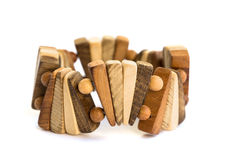 Brown bracelet Royalty Free Stock Images