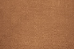 Brown braid fabric texture for background Stock Photography