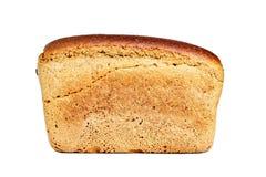 Brown a brassé le pain sous forme de brique images stock