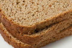 Brown bread. Sliced homemade brown bread with cereals Royalty Free Stock Photos