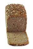 Brown Bread with Grains Stock Image