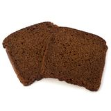 Brown bread slice Royalty Free Stock Photo