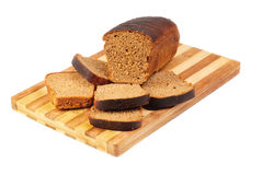 Brown bread slice Royalty Free Stock Image