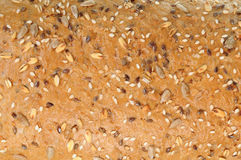 Brown bread texture Stock Photography