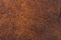 Brown bread texture Stock Images