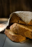 Brown bread. Stock Images