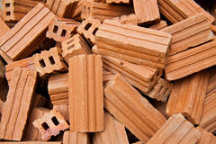 Brown Brick Background Royalty Free Stock Photo
