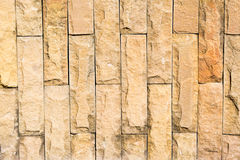 Brown brick background. Shot from wall Royalty Free Stock Image