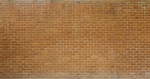 Brown brick background. Brown brick wall use for background Royalty Free Stock Image