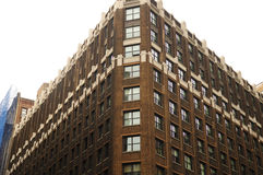Brown Brick Building Stock Photo