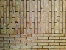 Brown  brick pattern Stock Photography