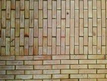 Brown  brick pattern Stock Photography