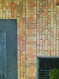 Brown brick pattern Royalty Free Stock Image