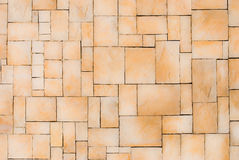 Brown Brick wall as background Royalty Free Stock Photos