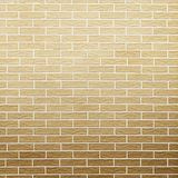 Brown brick wall as background or texture Royalty Free Stock Photography