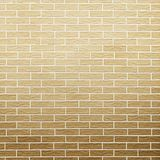 Brown brick wall as background or texture Stock Images