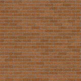 Brown Brick Wall BackGround Royalty Free Stock Photo