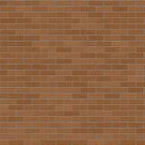 Brown Brick Wall BackGround. Brick Wall Brown Running Pattern / Brown Brick Surface / Seamless texture Royalty Free Stock Photo