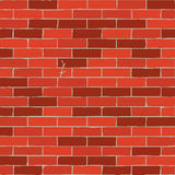 Brown brick wall background Stock Images