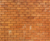 Brown brick wall background. Brown brick wall use for background Royalty Free Stock Image