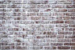 Brown brick wall. Stock Photo