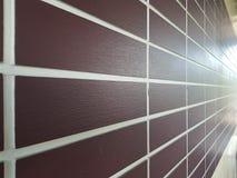 Brown brick wall. royalty free stock image